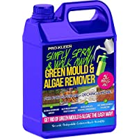 Pro-Kleen 5 Litres - Simply Spray & Walk Away Concentrate Patio - Fencing - Decking - Moss Killer - Green Mould and Algae Remover Cleaner (5L Simply Spray)