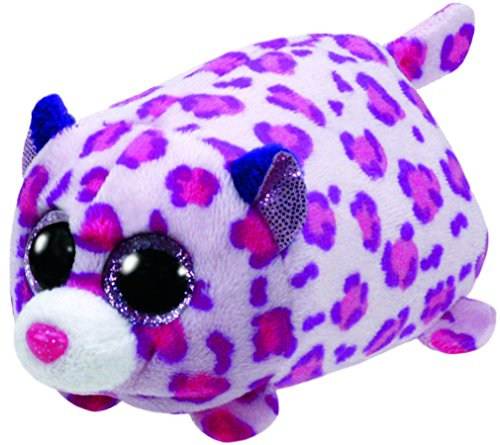 TY Glubschis - Olivia Leopard, pink - Teeny Tys - 10 cm