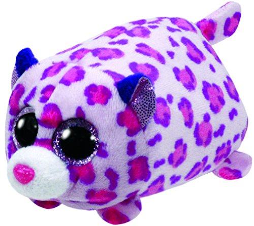 """Teeny Ty Leopard - Olivia - 8cm 3"""""""