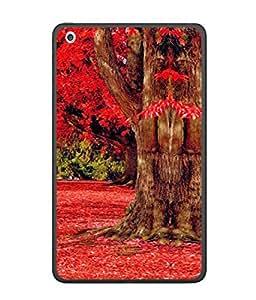 PrintVisa Designer Back Case Cover for Apple iPadPro 12.9 (Park Season Leaves Beauty Winter Spring Forest)