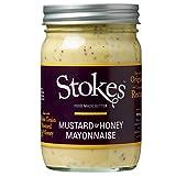 Stokes Real Mayonnaise Mustard & Honey, 360 ml