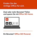 Microsoft Office 365 Personal | 1 Device | 1 Year | PC/Mac | Box