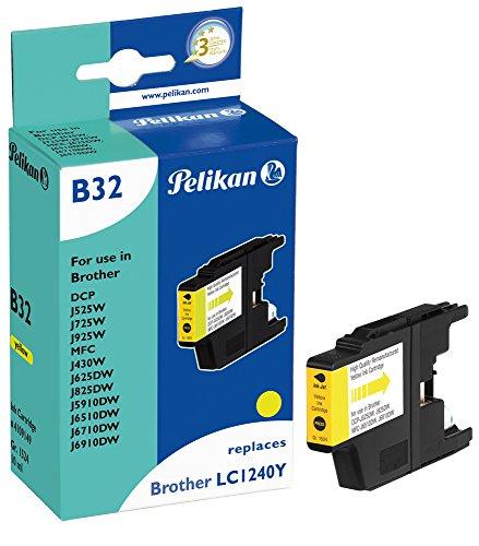 Preisvergleich Produktbild Pelikan Druckerpatrone B32 ersetzt Brother LC1240Y, Gelb
