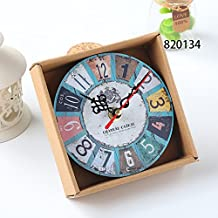 Auntwhale Habitación Decoración antigua Relojes de pared Relojes de decoración Shabby Chic Cocina Decoración ...