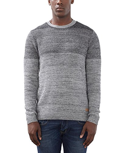 edc by Esprit 106cc2i004, Pull Homme Gris (grey 030)