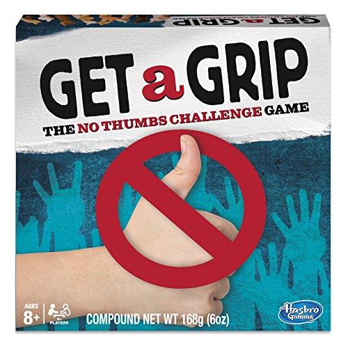 """Hasbro Gaming """"Get a Grip"""" Brettspiel, evtl. Nicht in Deutscher Sprache (C33801020)"""