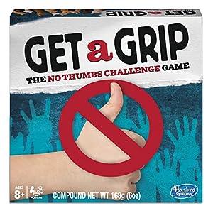 Hasbro Gaming Juego Get a Grip (versión en inglés)