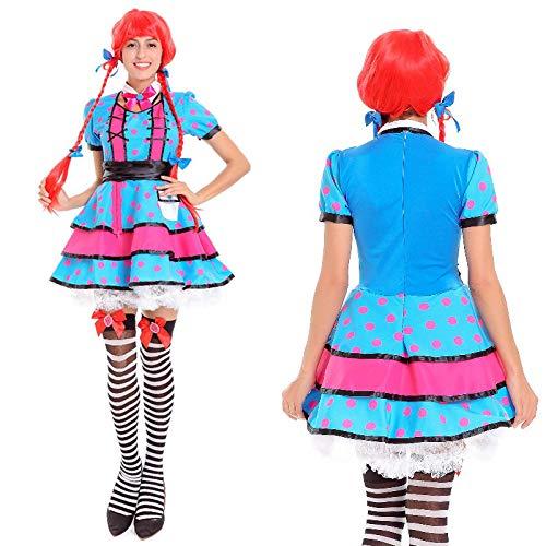 tüm,Cute Halloween Kostüm Bar Workwear Dienstmädchen, 10001, U ()