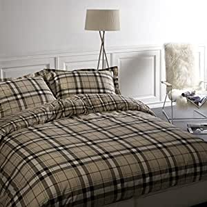 Housse de couette r versible dundee style burberry 100 - Housse de couette burberry ...