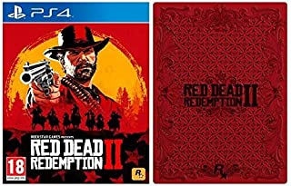 Red Dead Redemption 2 with Collectible SteelBook (Exclusive to Amazon.co.uk) (PS4) (B07KBM7J8S) | Amazon price tracker / tracking, Amazon price history charts, Amazon price watches, Amazon price drop alerts