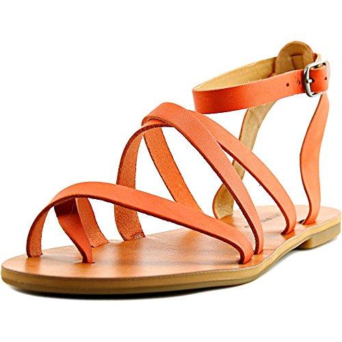lucky-brand-aubree-donna-us-5-arancione-sandalo-gladiatore
