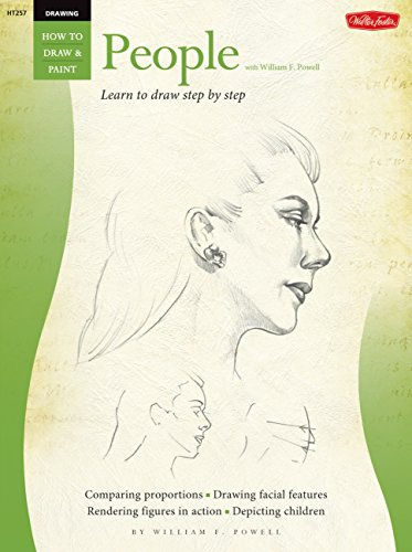 Drawing: People with William F. Powell: Learn to Paint Step by Step (How to Draw and Paint Series) por William Powell
