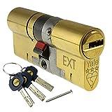 Yale Platinum 3Star Euro bombín de Anti funda Bump alta seguridad UPVC Puerta Lock ts2007