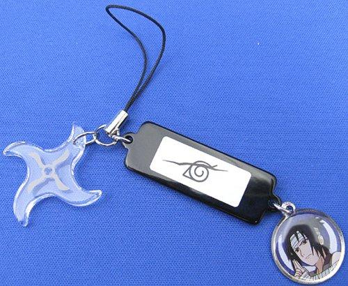 Mobile Phone Strap Gadget Manga Naruto Shippuden Sasuke