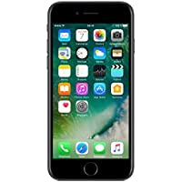 "Apple iPhone 7, 4,7"" Display, SIM-Free, 32 GB, 2016, Schwarz (Generalüberholt)"