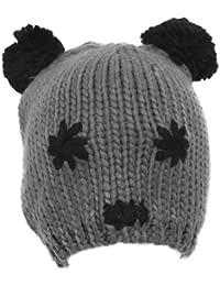 Textiles Universels Bonnet fantaisie style panda - Femme