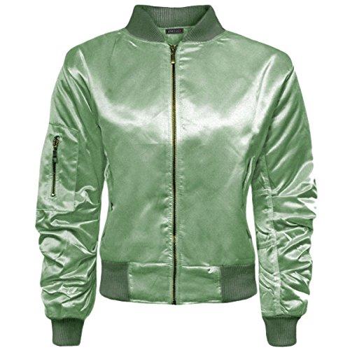 SheLikes - Blouson - Femme * vert sauge