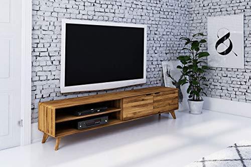 MASSIVMOEBEL24.DE MALMÖ TV-Board Nr 31 Wildeiche geölt