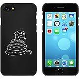 Noir 'Serpent' étui / housse pour iPhone 7 (MC00063611)