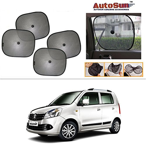 Autosun Car sun shade (Set of 4) for Maruti Suzuki Wagon R Duo  available at amazon for Rs.145