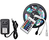 Quality Motto Waterproof RGB Remote Control Colour Changing LED Strip Light, 5m (Multicolour)