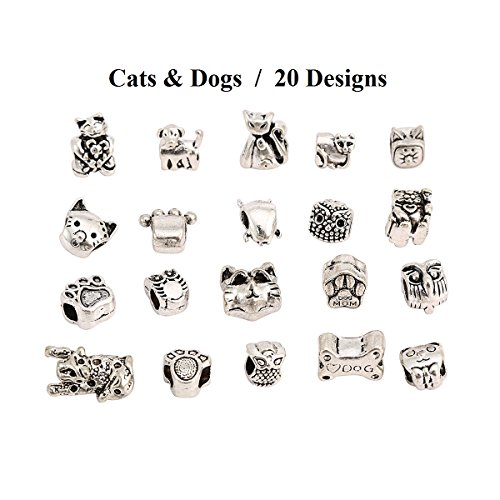 rkc-5-to-200-pcs-silver-gold-plated-charms-pendants-beads-mix-for-bracelets-jewellery-making-chains-