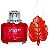#10: Elite Combo Deal Concept Autodoc Car Perfume Fresh Lavender with Hanging Fresh Strawberry Tree Air Freshener for Car