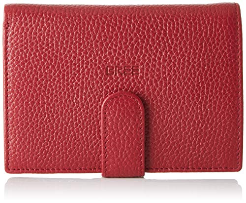 BREE Collection Damen Liv New 119, Brick Red, Combi. Purse Geldbörse, Rot, 2x10x14.5 cm