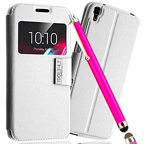 *** PACK LUXE *** Etui Housse ALCATEL ONE TOUCH IDOL