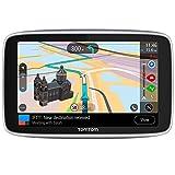 TomTom Go Premium - Navegador Gps 5? con Actualizaciones via Wifi,Trafico y Radarespara Toda la Vida Mediante Tarjeta Sim Incluida, Mapas del Mundo, Navegación Último Kilómetro e Ittt