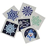 US Toy Company XM398 Winter Tatoos, 144-Pack