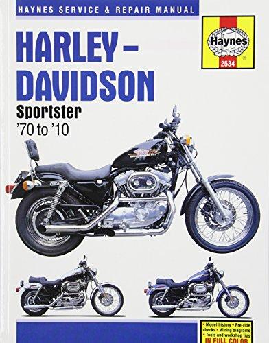 Harley-Davidson Sportster: '70 to '10 (Haynes Service & Repair Manual)
