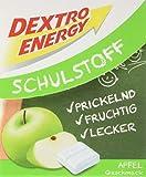 Dextro Energy Schulstoff Apfel/Mini Traubenzucker-Täfelchen mit schnell verfügbarer Glucose und Prickel-Spaß, 6er Pack (6 x 50 g)
