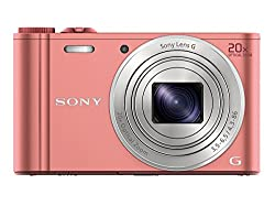 Sony Cybershot DSC-WX350/P 18.2MP Digital Camera (Pink)