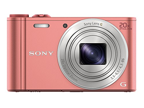 Sony Cybershot Dsc-wx350/p 18.2mp Digital Camera (pink)