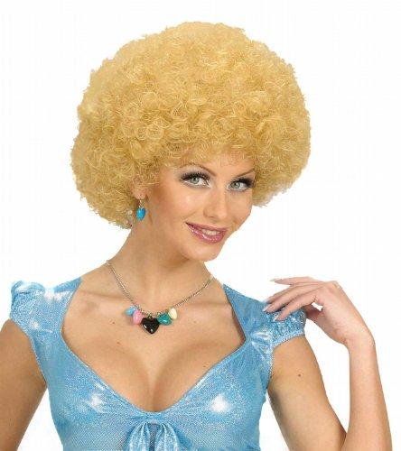 Widmann 5978D - Lockenperücke (Blonde Ideen Curly Kostüm Haare)