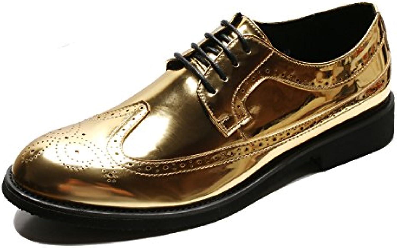 Zapatos De Vestir De Cuero Para Hombre Derby Smart Shoes Zapatos De Punta Redonda Con Cordones Oxford Zapatos... -