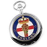 England emailliert der Herren mit Taschenuhr Hochzeit Geburtstag Weihnachten Ruhestand Väter Tag Patriot jeden Anlass.