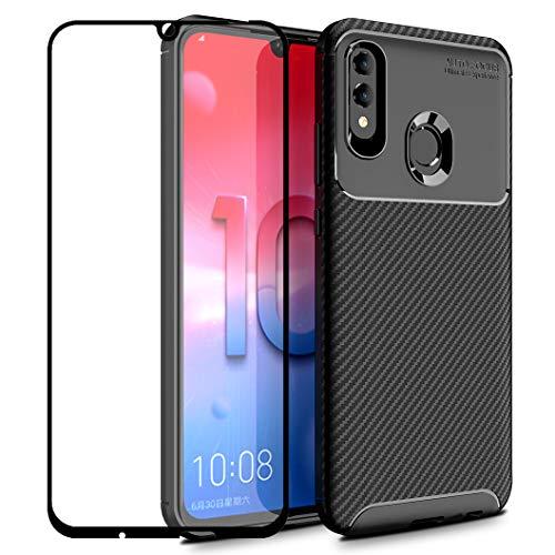 """Compatibilidad: Huawei P Smart 2019 / Honor 10 Lite (6.21 """")  Materiales: Silicona TPU  Contenidos del Paquete: 1 x Funda para Huawei P Smart 2019 / Honor 10 Lite 1 x Protector de pantalla  Característica: - Material Superior: Suave y Flexible, Delga..."""