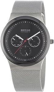 Reloj Bering Time 32139-002 de cuarzo para hombre con correa de acero inoxidable, color plateado de Bering Time