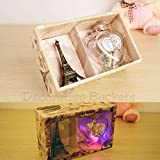 #6: VALENTINE GIFTS :Decorative Buckets: Valentine day gifts:MESSAGE BOTTLE : MESSAGE IN A BOTTLE WITH EIFFEL TOWER GIFT BOX : LED LIGHT BOTTLE : valentines day gifts :Gifts for him :gifts for her : valentine day gifts for girl friend : valentine day gifts for boyfriend : anniversary gift : WRITE YOUR OWN MESSAGE