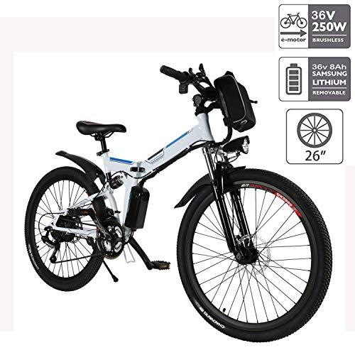 Cooshional Bicicleta Eléctrica Plegable Montaña