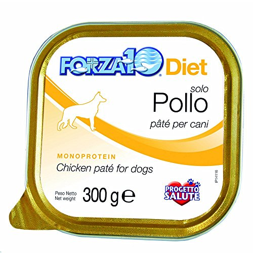 FORZA 10 alimentation 300g poulet Aliment humide monoprotein chien
