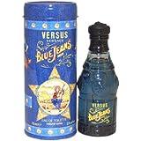 VERSACE BLUE JEANS agua de tocador vaporizador 75 ml