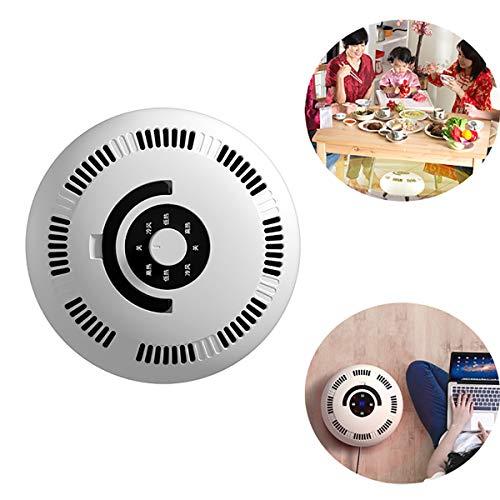 Gxet Mini calentador, Calentador eléctrico, calentador, Calefacción rápida tranquila Protección sobrecalentamiento, para EL escritorio oficina dormitorio cocina y EL USO Innen dormitorio,Mechanical