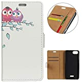 KM-WEN® Case for Wiko Tommy 3 (5.45 Inch) Book Style Cute