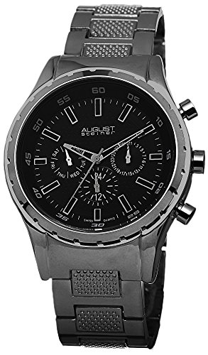 August Steiner AS8105BK - Reloj para hombres