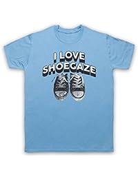 I Love Shoegaze Indie Alternative Rock Fan Herren T-Shirt