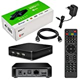 MAG 410 Original Infomir / HB-DIGITAL IPTV SET TOP BOX mit Android, WLAN (WiFi) 802.11 b/g/n, Bluetooth 4.1,...
