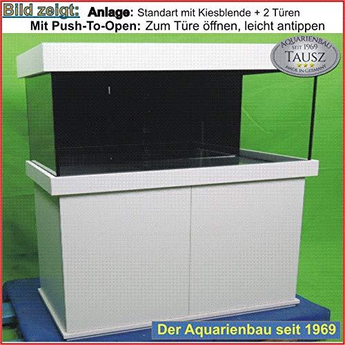 TAB Aquarium- Kombination mit Beleucht./ Schrank / Aquarium 200x80x80cm / 1280L. / Glas 15mm / 2x80 Watt